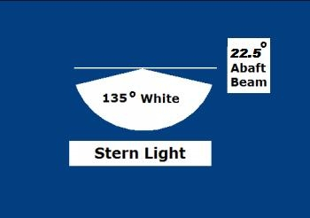 White Stern Light